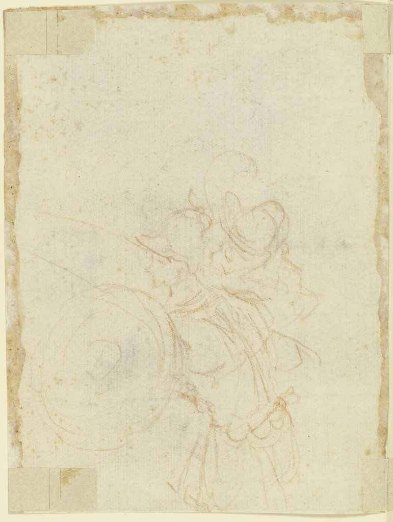 Two soldiers, Italian, 17th century