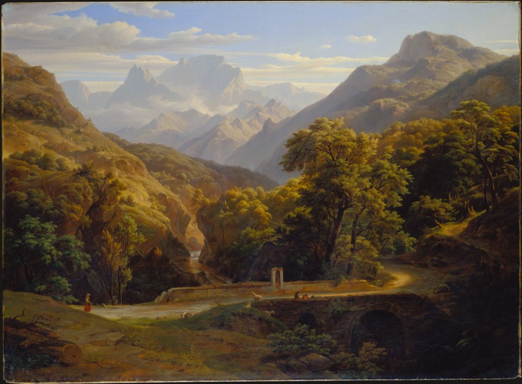 Mountainscape, Ernst Fries