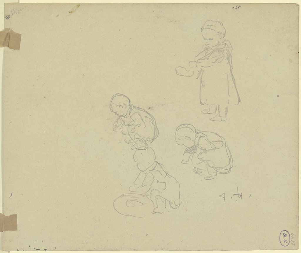 Studies of a child, Jacob Happ