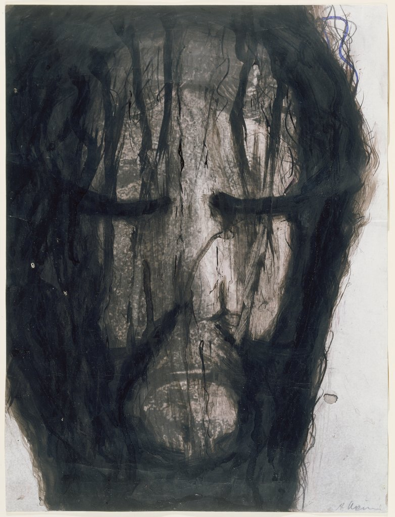 Head of Christ, Arnulf Rainer
