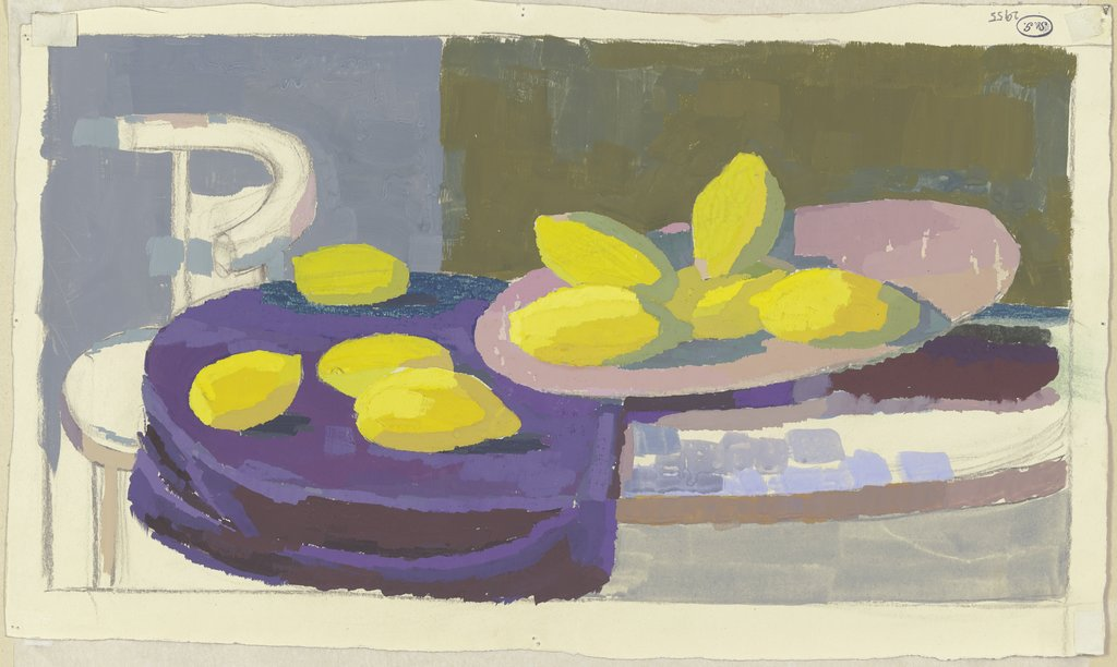 Still life with lemons, Maria Houben