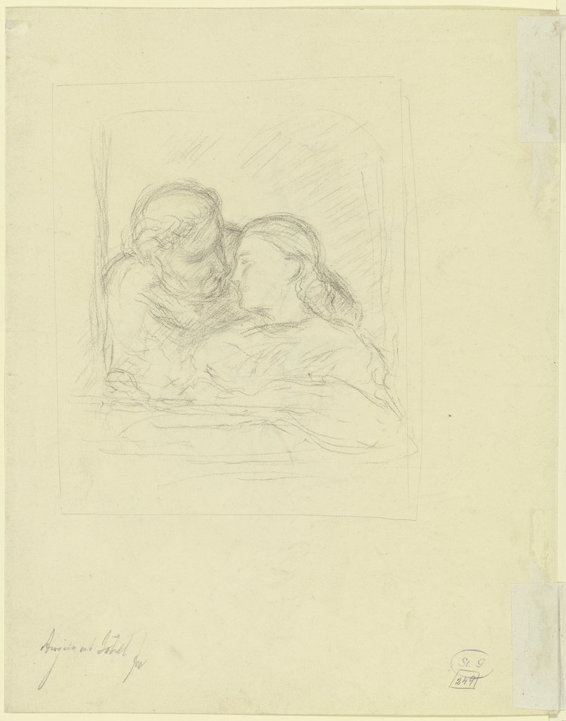 Couple in the window, Angilbert Göbel