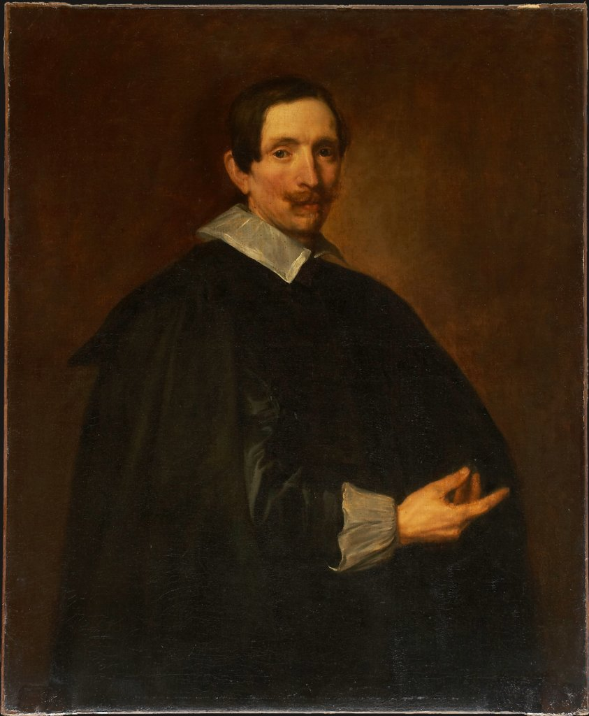 Portrait of Hendrik Dubois (1589-1646), Artist and Art Dealer, Anthony van Dyck   ?