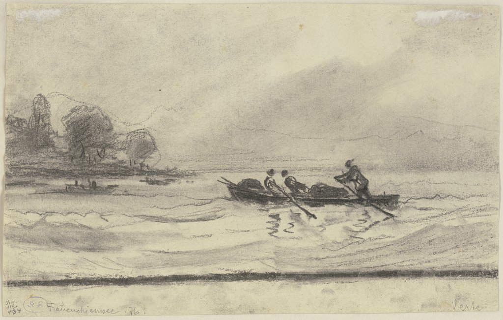 Boats at the Chiemsee, Ernst Morgenstern