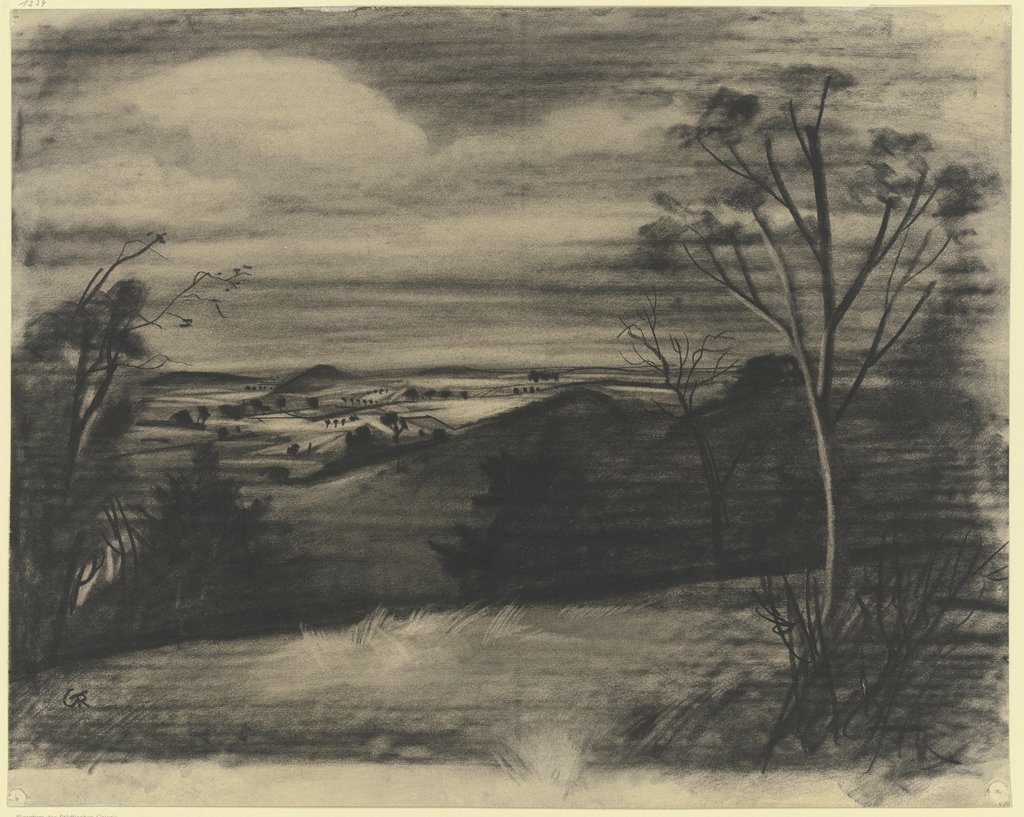 Rhön landscape, Gottfried Richter