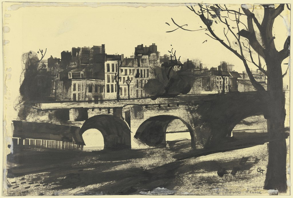 Paris Seine, Gottfried Richter