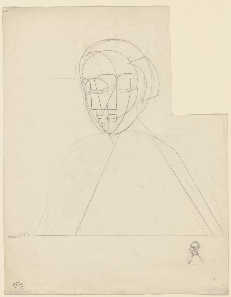 Constructed Head No. 1, Naum Gabo