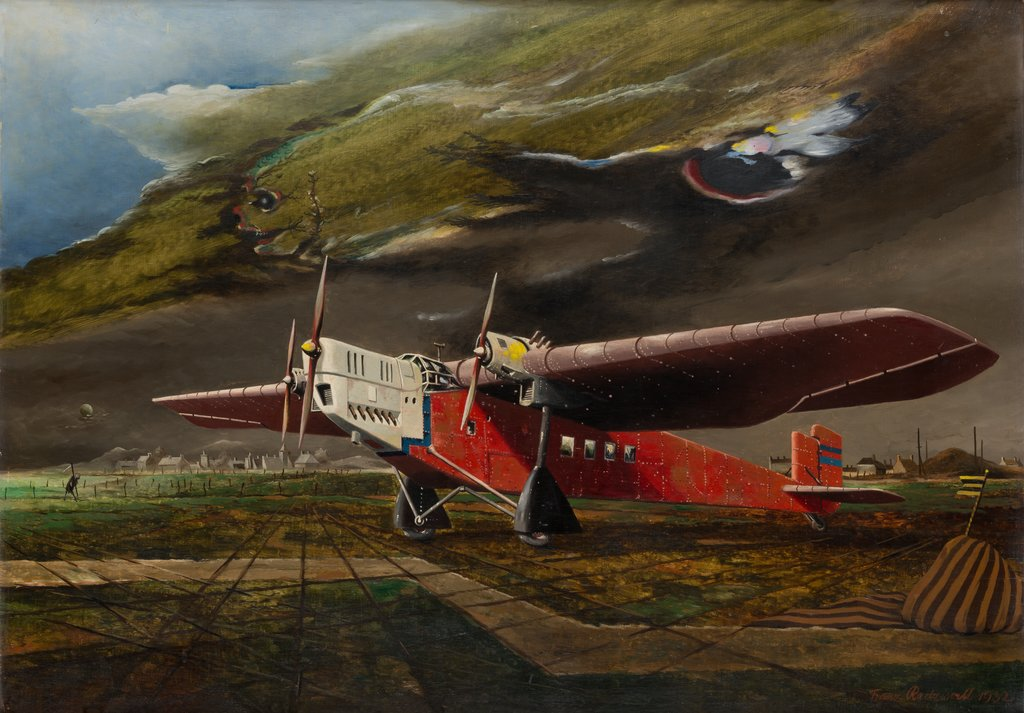 The Red Aeroplane, Franz Radziwill