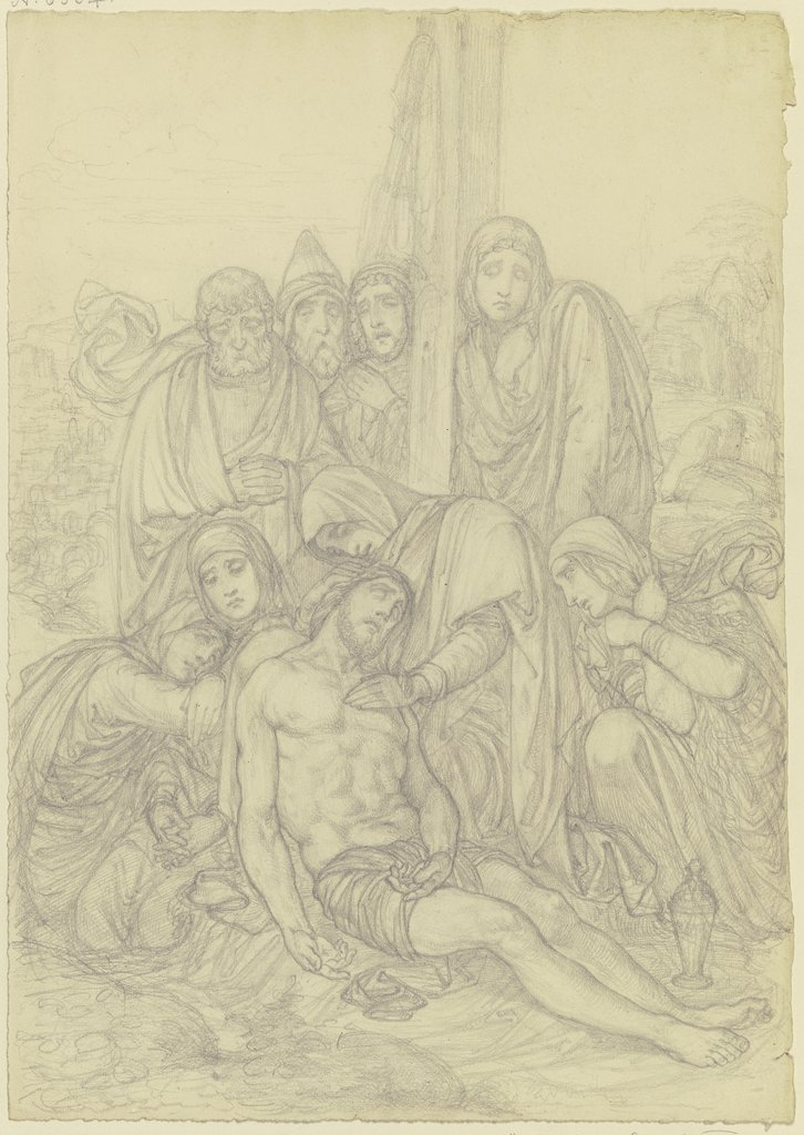 Lamentation of Christ, Ferdinand Fellner