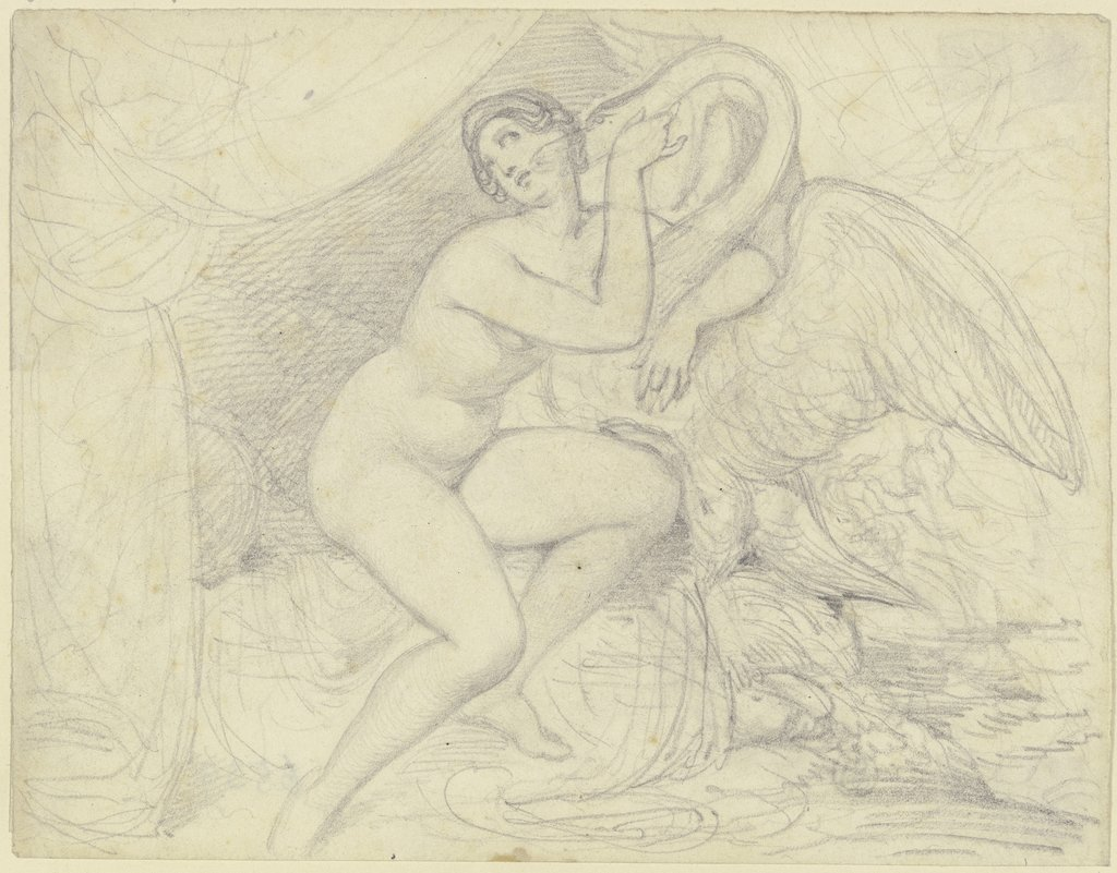 Leda with the swan, Ferdinand Fellner