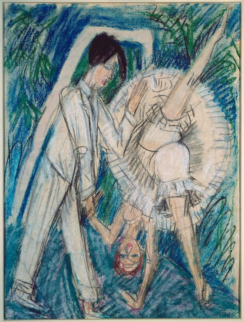 Dancing Couple, Ernst Ludwig Kirchner
