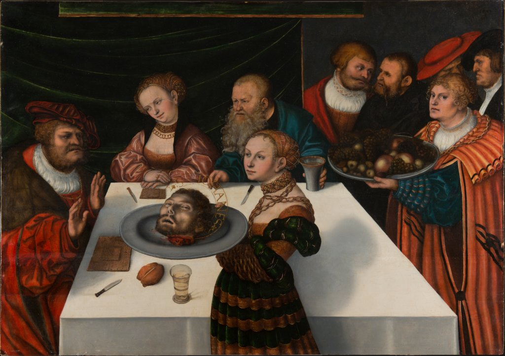 The Feast of Herod, Lucas Cranach the Elder