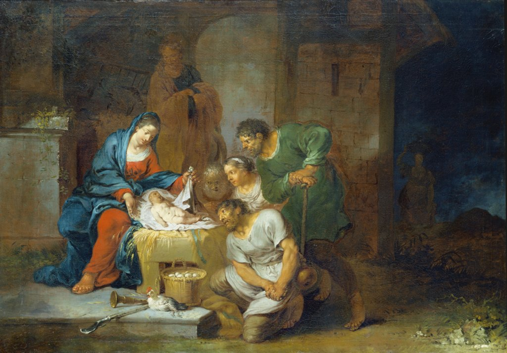 The Adoration of the Shepherds, Januarius Zick