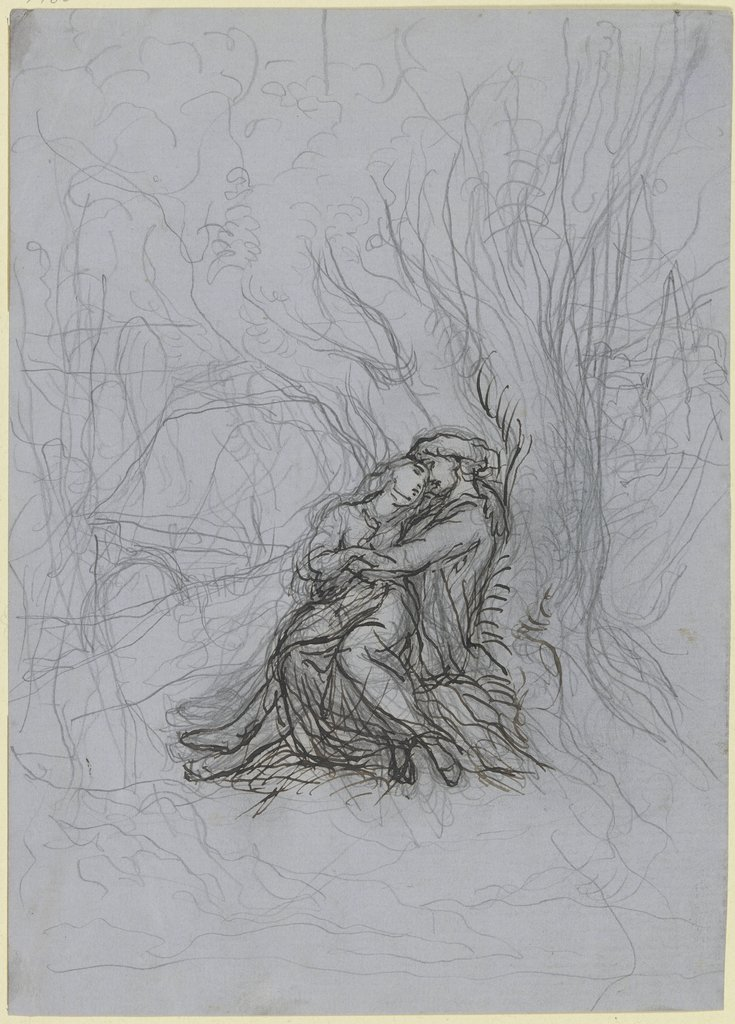 Lovers in the forest, Victor Müller