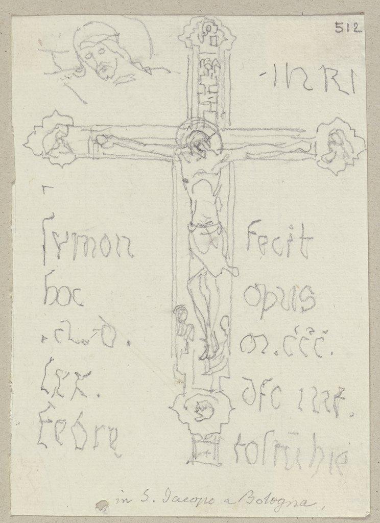 Kruzifix in Holz in San Giacomo Maggiore in Bologna - Digital Collection