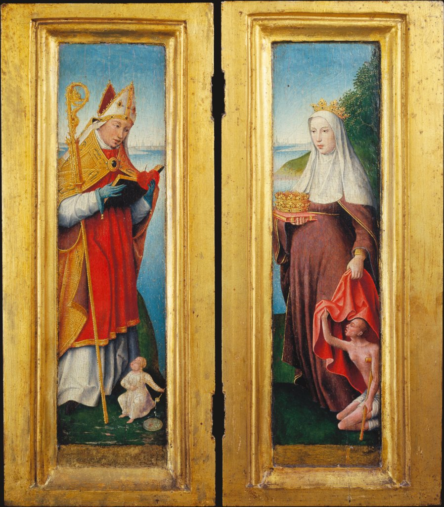 St Augustine and St Elizabeth, Dutch or Lower-Rhenish Master around 1510
