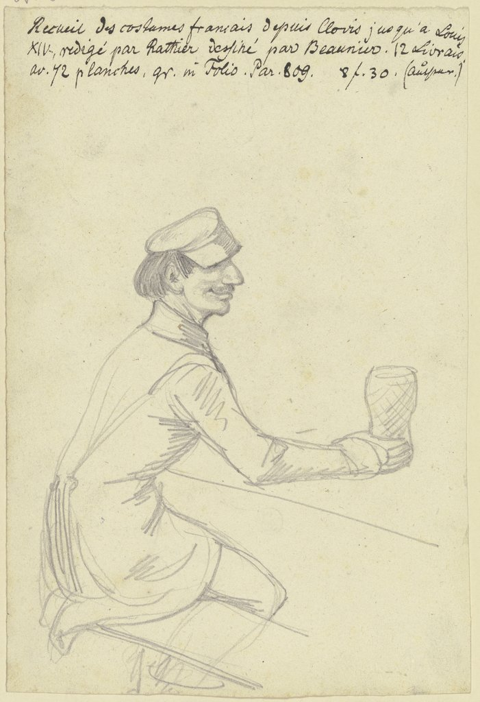 A beer drinker, Ferdinand Fellner