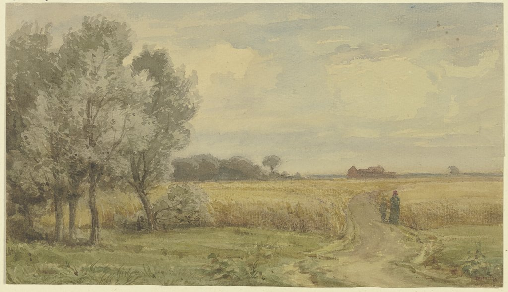 Cornfield in the summer, Karl Peter Burnitz