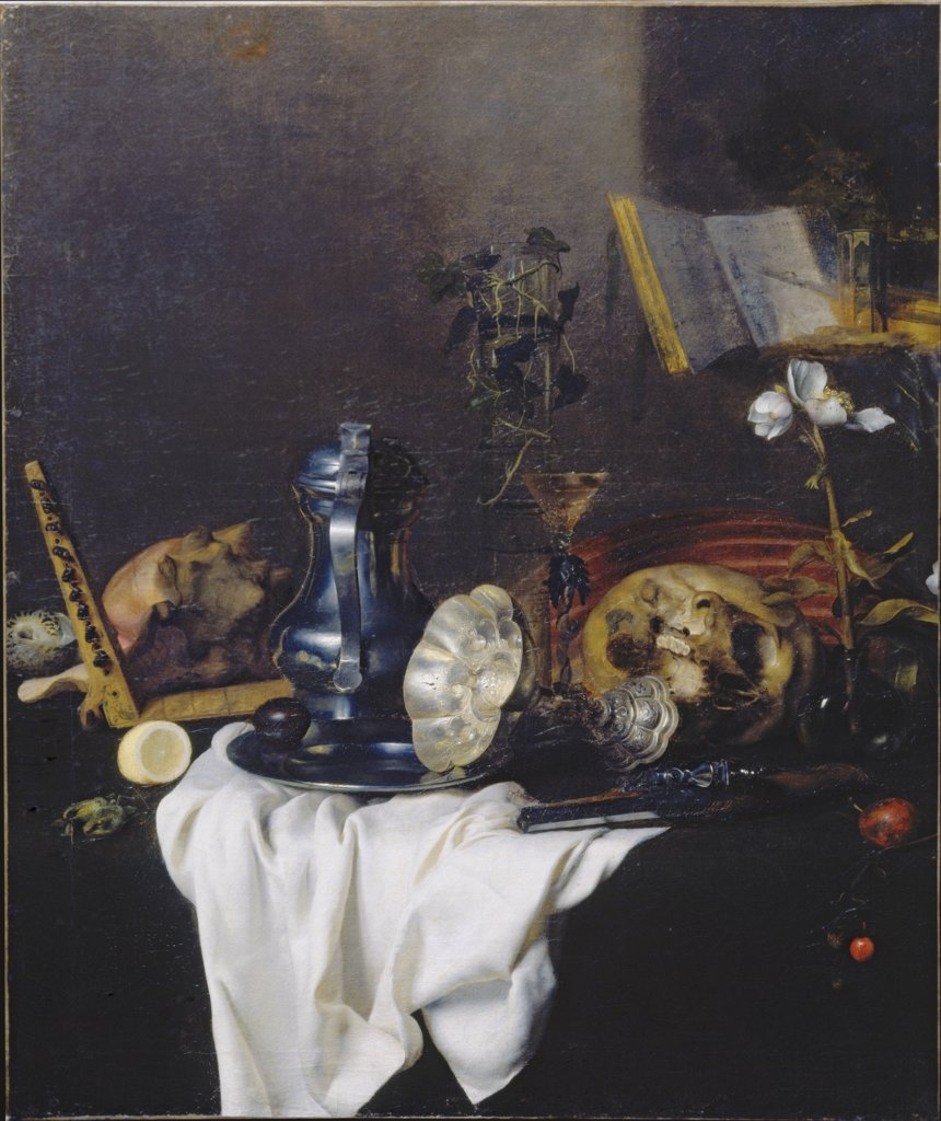 Vanitas Still Life, Peter Willebeeck