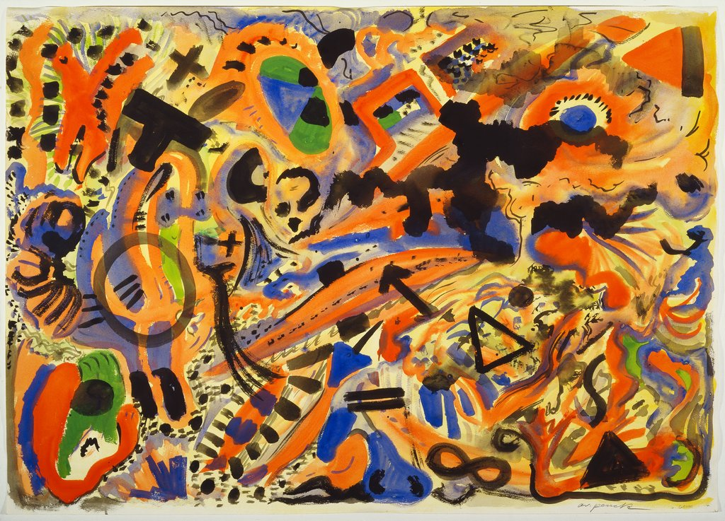 Ground, A. R. Penck