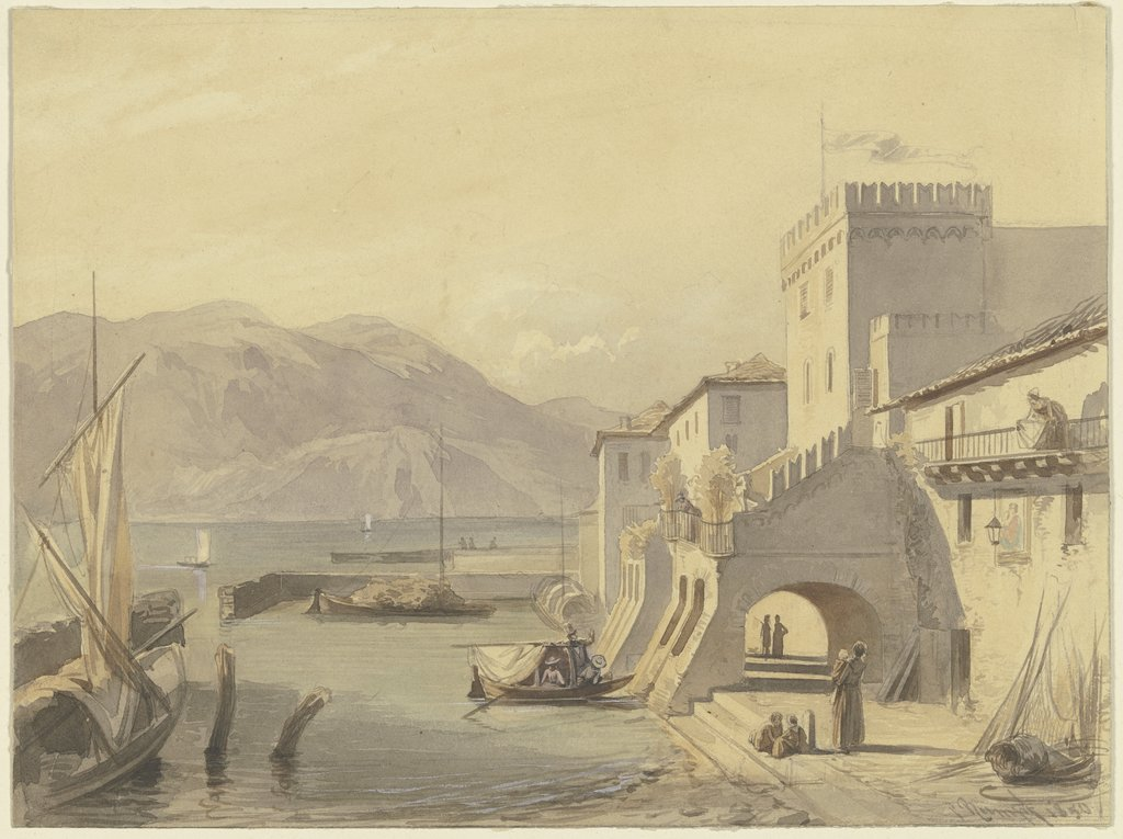Upper Italian port, Philipp Rumpf