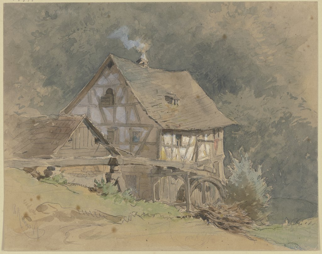 Timber framed watermill, Philipp Rumpf