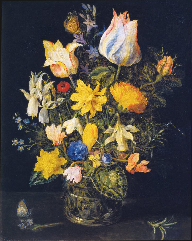 Still Life with Bouquet of Flowers, Jan Brueghel the Elder  workshop