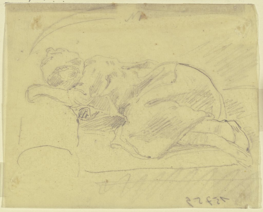 Sleeping girl, Philipp Rumpf