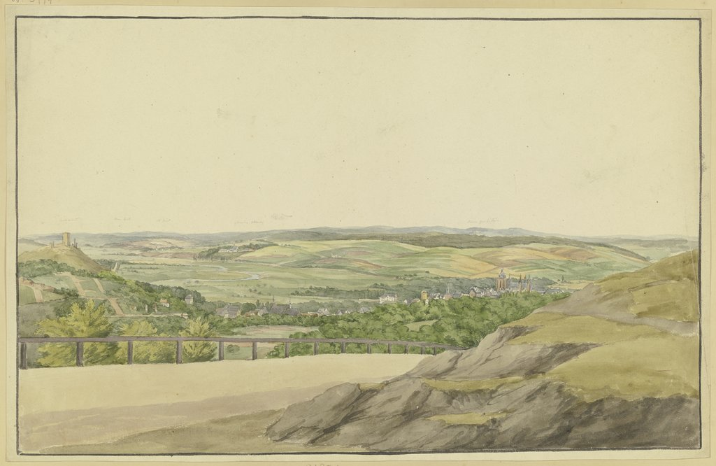 View from Wetzlar, Heinrich Rosenkranz