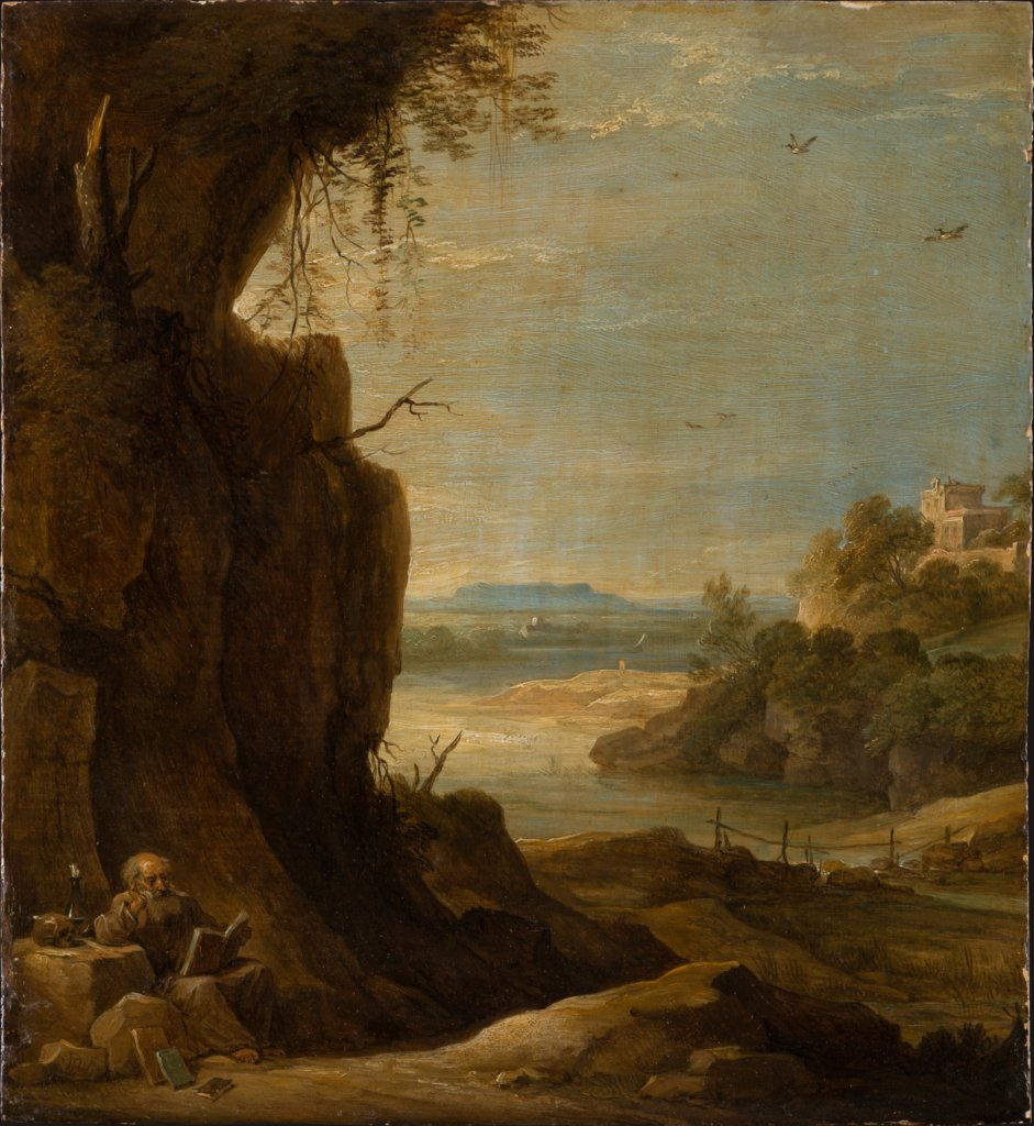 Southern Landscape with St Anthony the Hermit, David Teniers the Younger