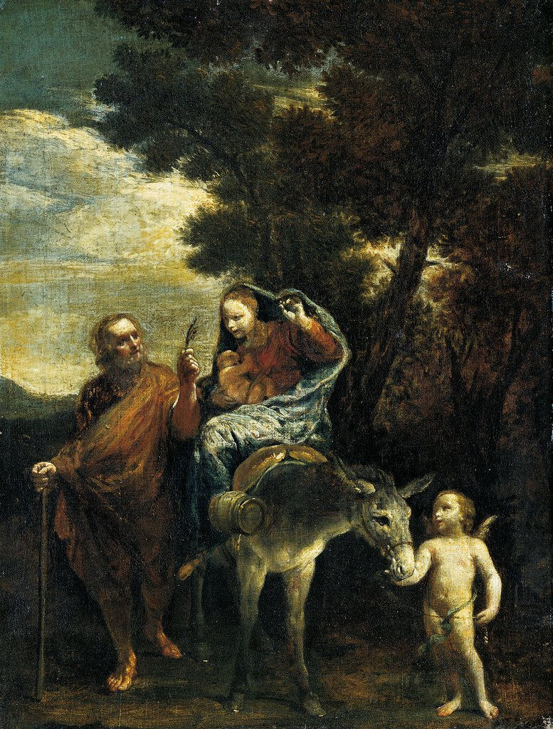 The Flight to Egypt, Giuseppe Maria Crespi