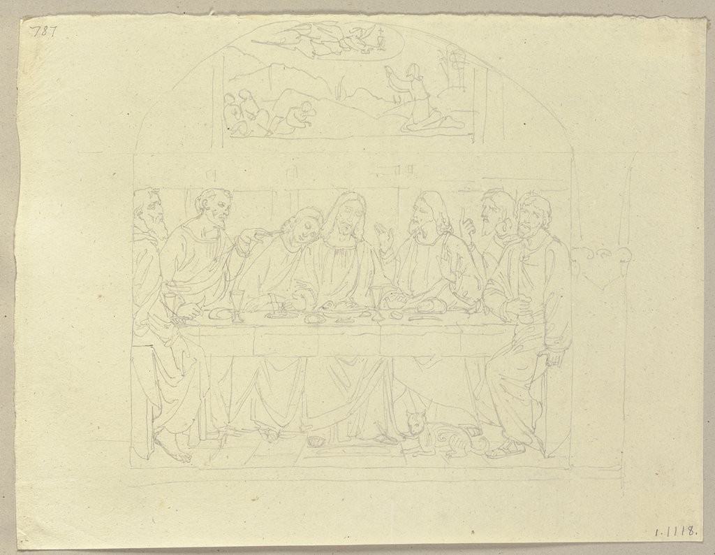 The Last Supper, Johann Anton Ramboux