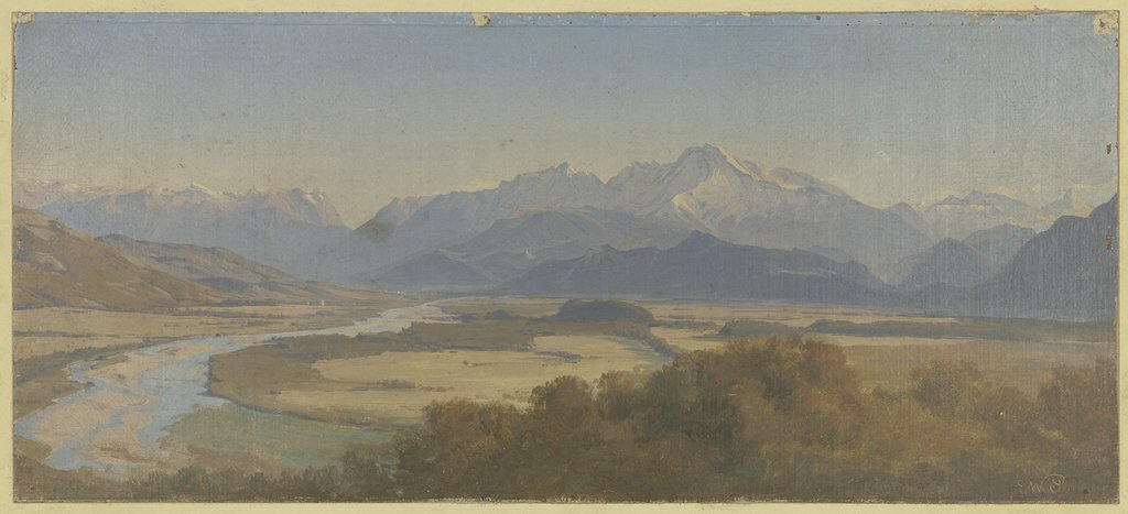 Mountainscape, Eduard Wilhelm Pose