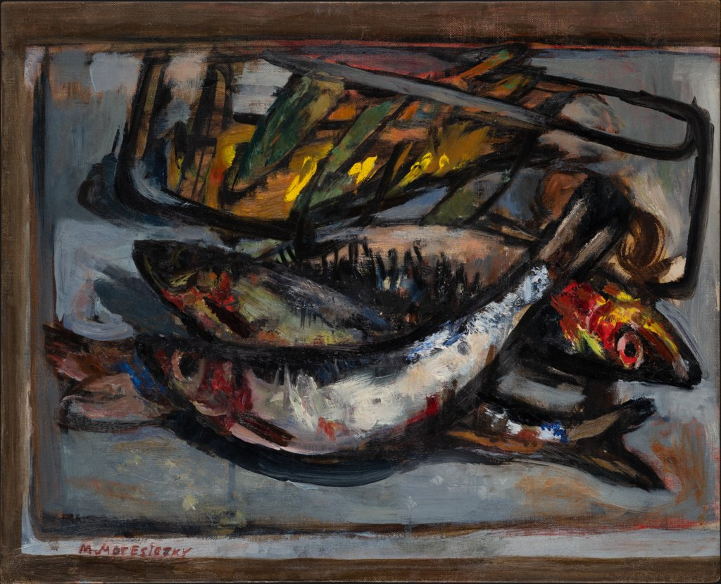 Still Life with Fishes, Marie-Louise von Motesiczky