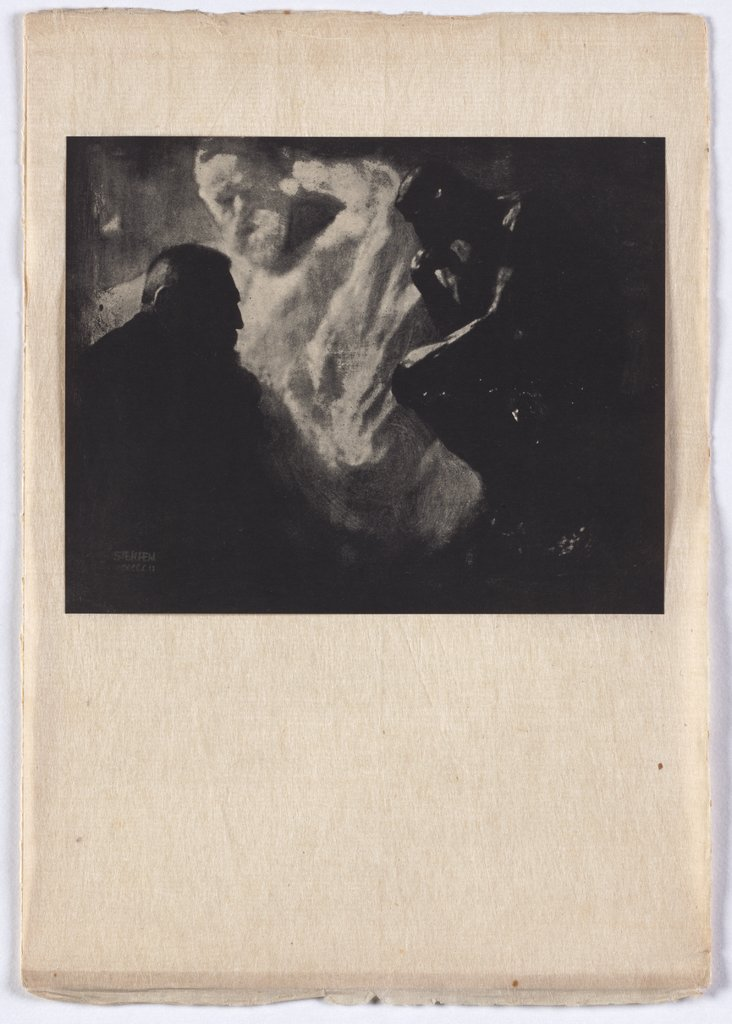 Rodin - The Thinker, Edward Steichen