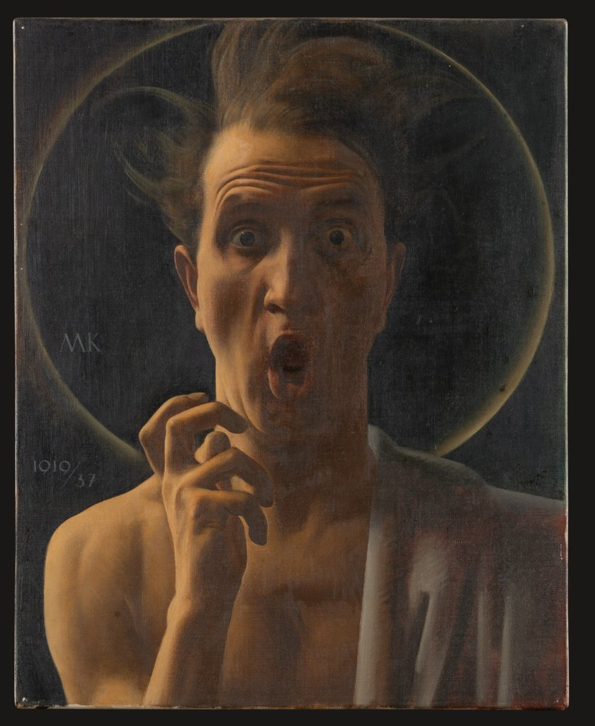 The Fanatic (Self-Portrait), Maximilian Klewer