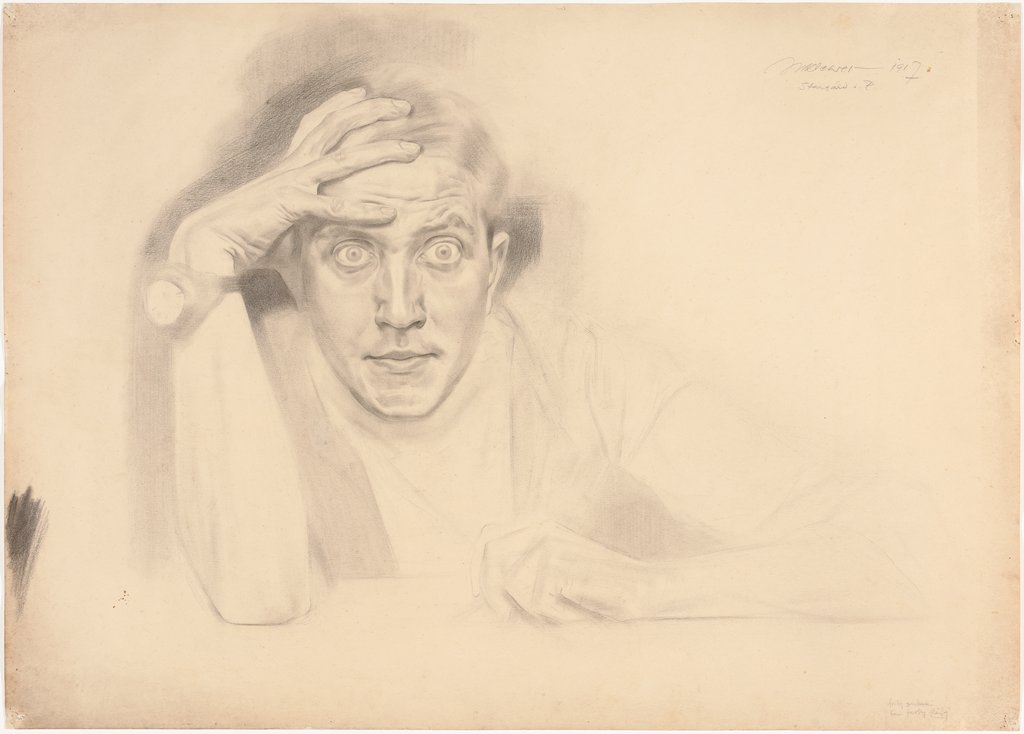 Self-Portrait Stargard, Maximilian Klewer