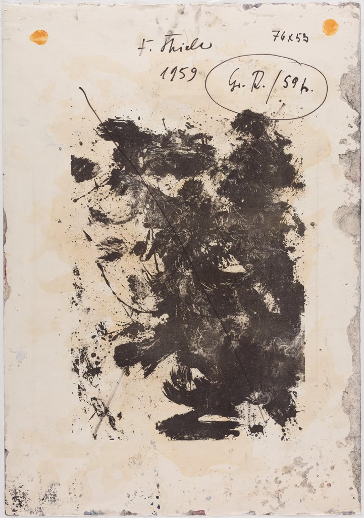 [blotted out], Fred Thieler