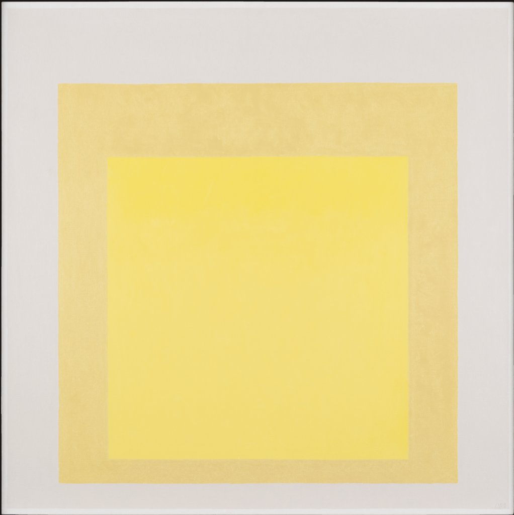 Study for Homage to the Square: From Afar, Josef Albers