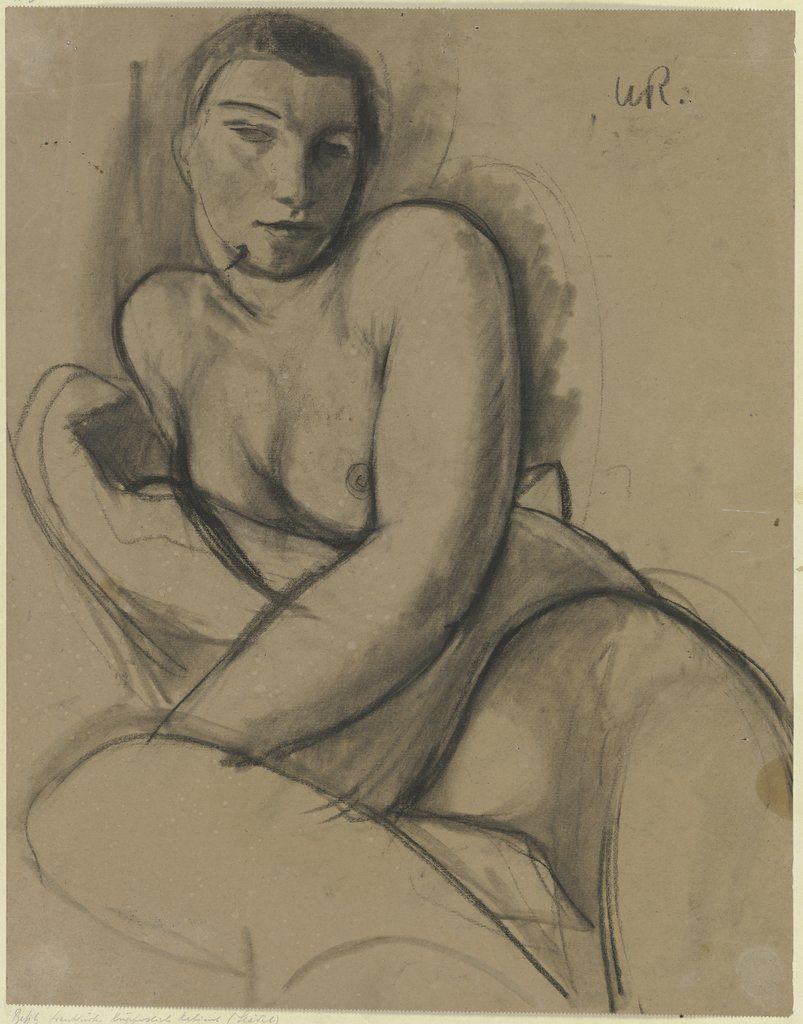 Female nude, Wilhelm Runze