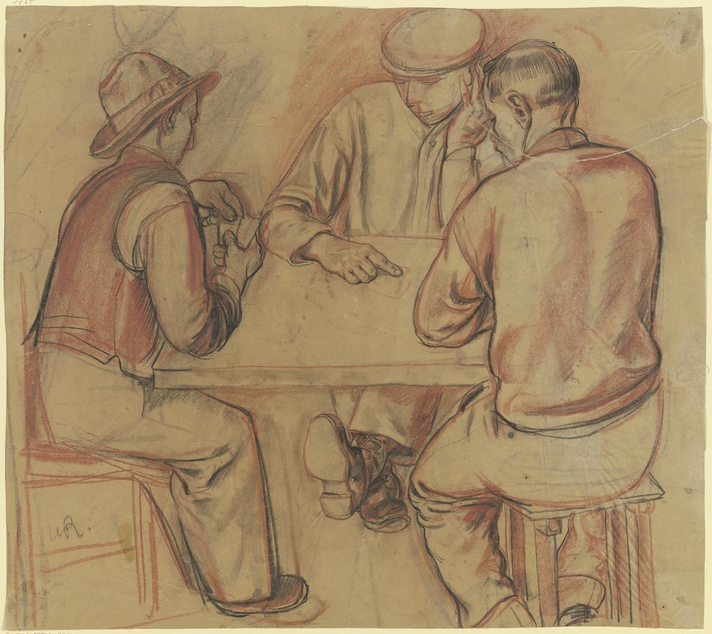 Card players, Wilhelm Runze