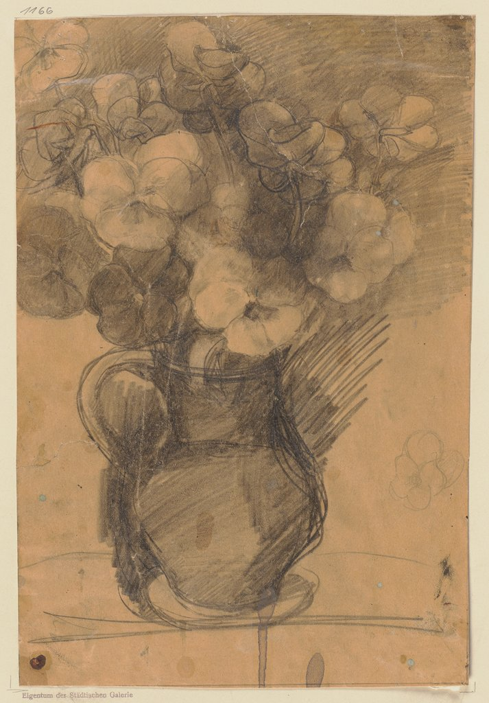 Jar with flowers, Wilhelm Runze