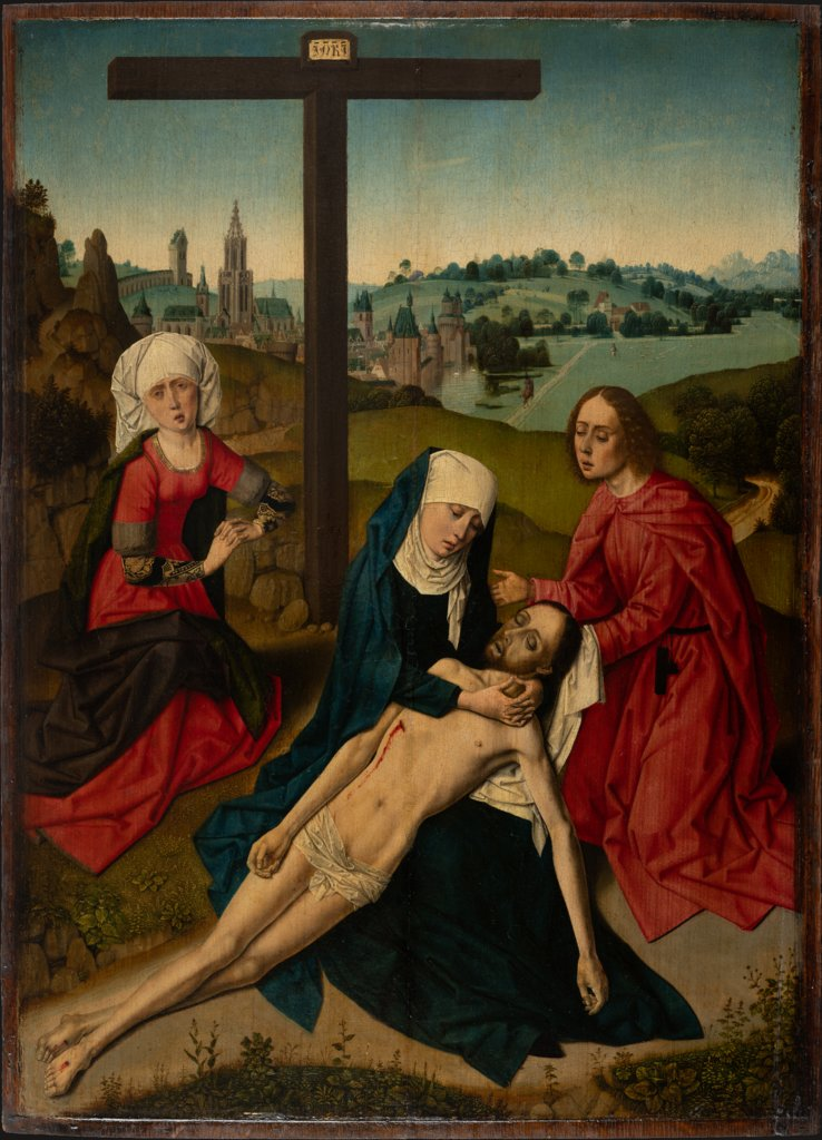 The Lamentation, Dutch Master around 1475