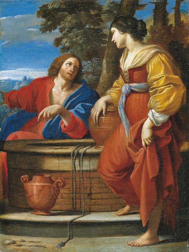 Christ with the Samaritan Woman at the Well, Sisto Badalocchio