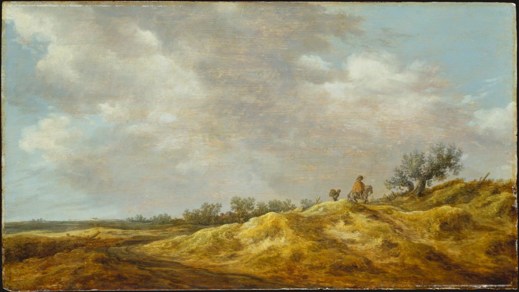 Path through the Dunes, Jan van Goyen