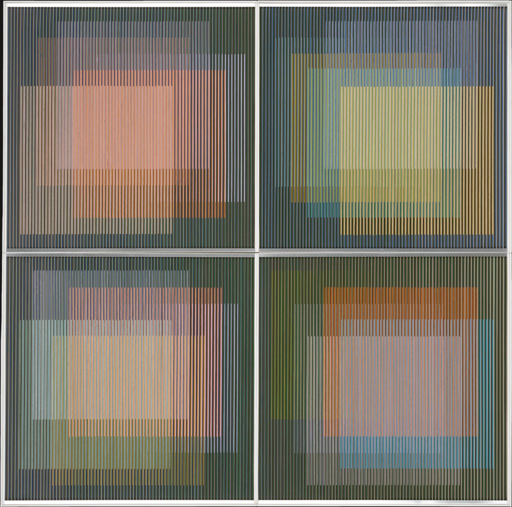Physichromie No. 327, Carlos Cruz-Diez