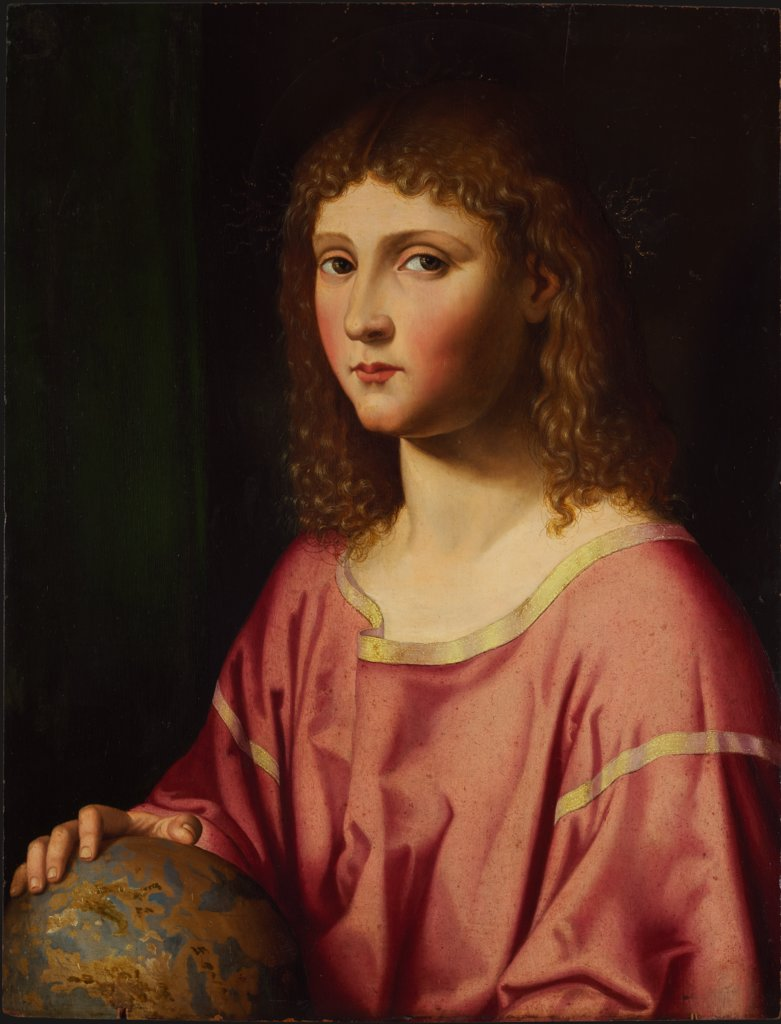 The Infant Christ as Salvator Mundi, Bartolomeo Veneto  Nachfolge