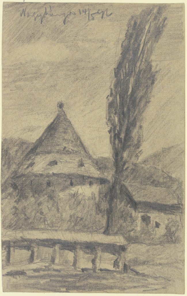 Farmstead in Nagybãnya, Jakob Nussbaum