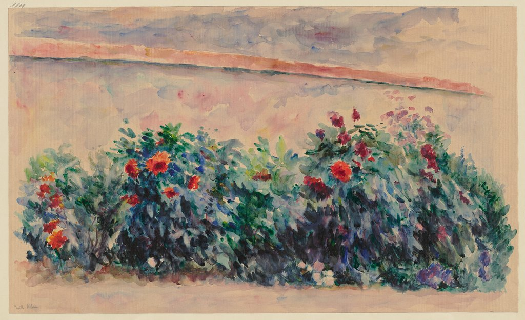 Flowers on a wall, Erich Nelson