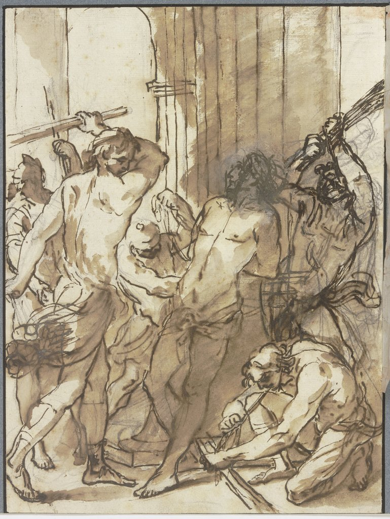 Flagellation of Christ, Marco Benefial